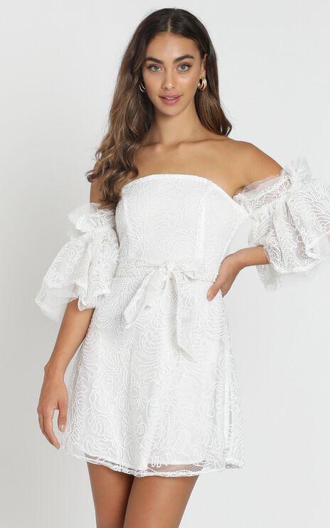 Narelle Dress in White