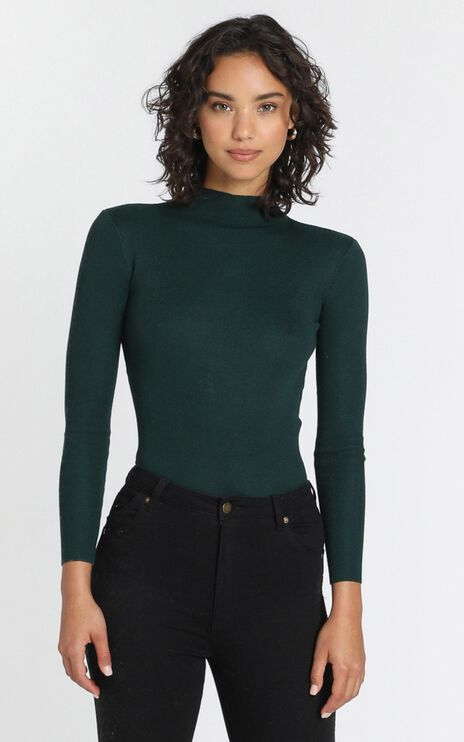 Lust For Life Knit Top in Green