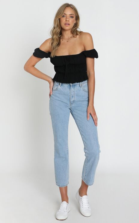 Gimme Top In Black