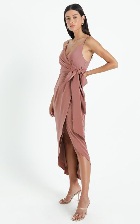 How Will I Know Dress In Dusty Rose
