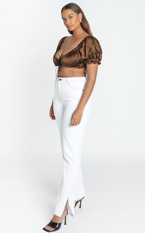Lioness - Alabama Jeans in White