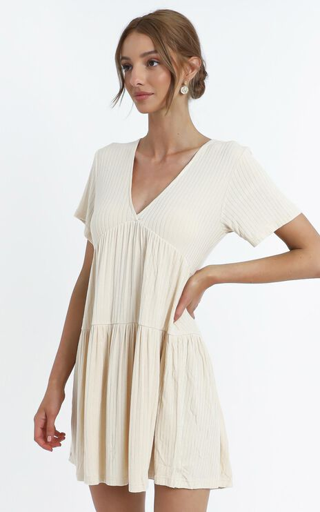 Freja Dress in Sand