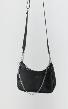Peta and Jain - Paloma Bag In Black Nylon