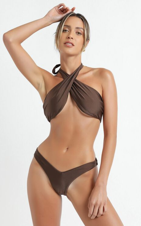 Lioness - The Annie Bikini in Brown
