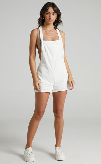 Kailua Playsuit in White