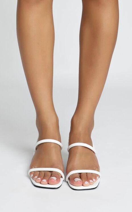 Therapy - Betta Heels In White Croc