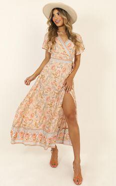 Byron Bound Dress In Pink Print