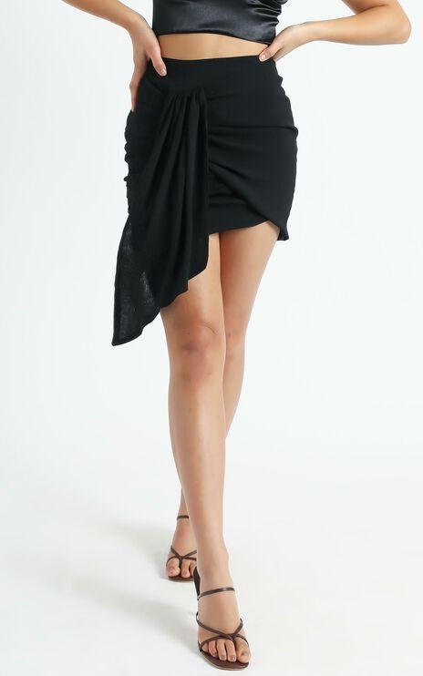 Bianca Mini Skirt in Black