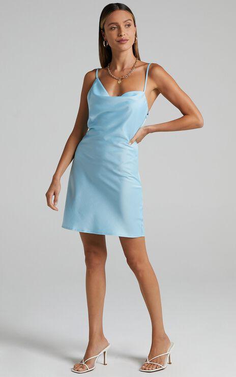 Myrcella Dress in Blue