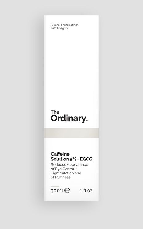 The Ordinary - Caffeine Solution 5% + EGCG - 30ml