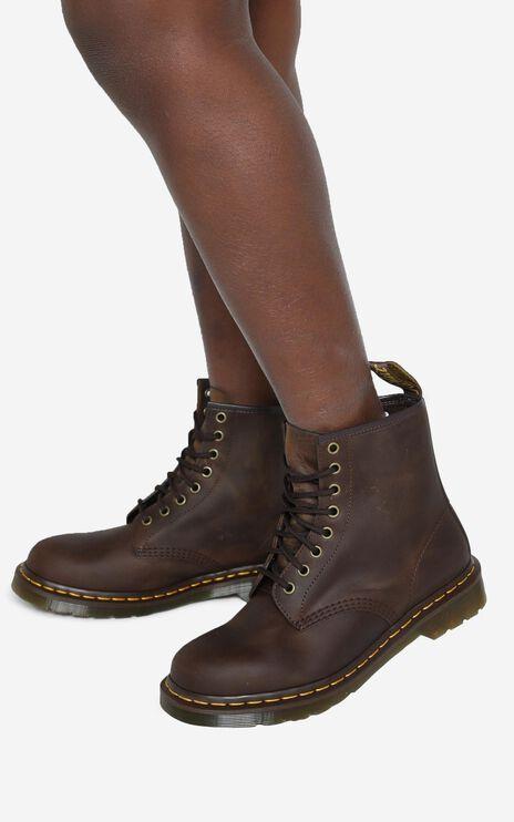 Dr. Martens - 1460 8 Eye Boot in Gaucho Crazy Horse