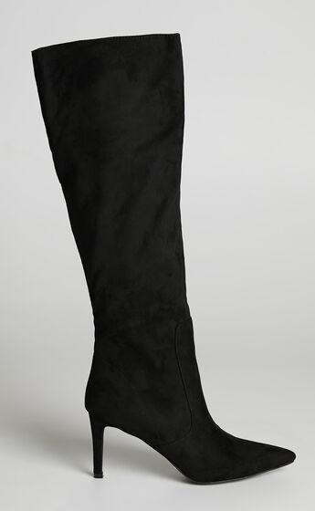 Billini - Britney Boots in Black Suede
