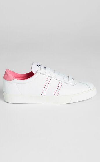 Superga - 2843 Club S Chromapeek Sneakers in A4R White Natural