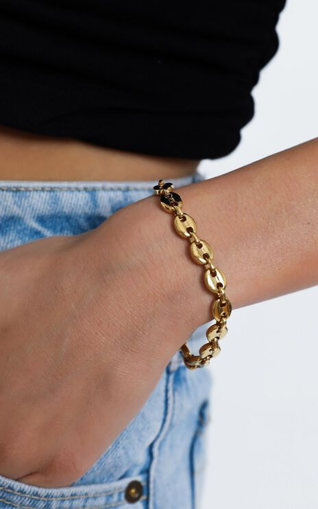 Peta and Jain - Skylar Bracelet in Gold