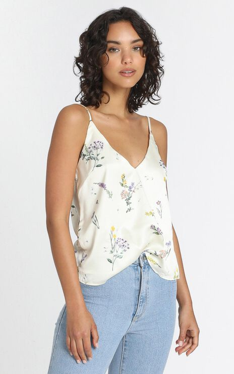 My Only Sunshine Top in Botanical Floral