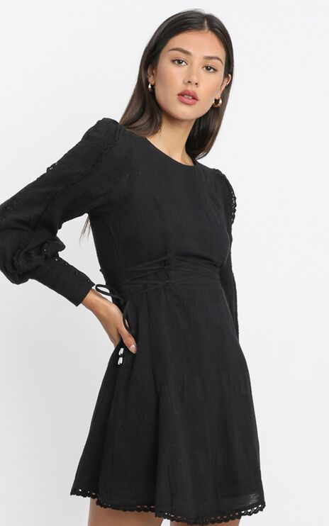 Reverie Dress in Black