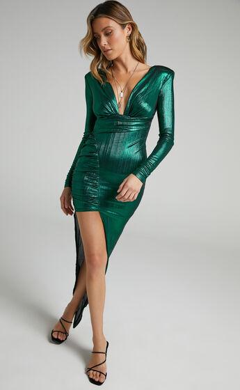 Prem The Label - Nila Dress in Emerald