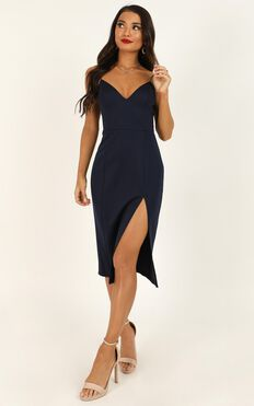 Big Ideas Dress In Navy
