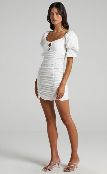 Coty Dress in White