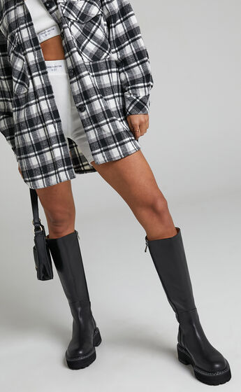 Alias Mae - Rohan Boots in Black Burnished