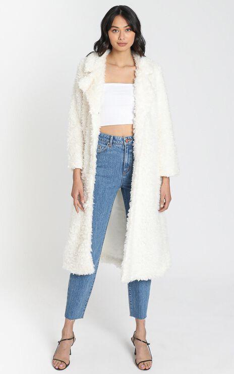Ashley Coat in Off White