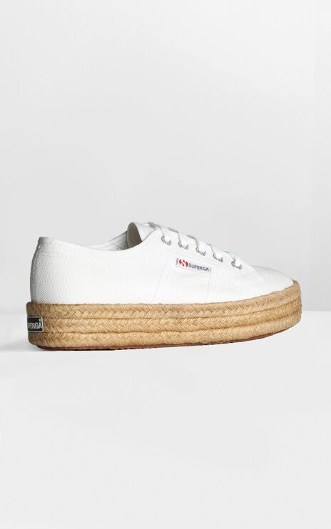 Superga - 2730 Cotropew Sneakers in White Canvas