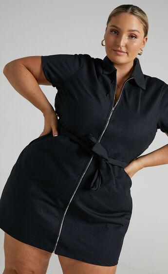 Ceres Dress in Black