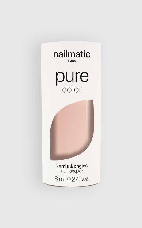 Nailmatic - Pure Color Elsa Nail Polish in Sheer Beige