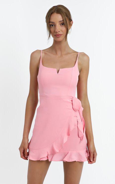Hunter Dress in Pink