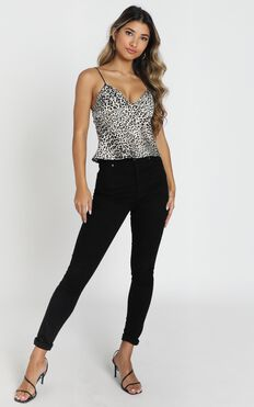 Drive You Wild Top in leopard