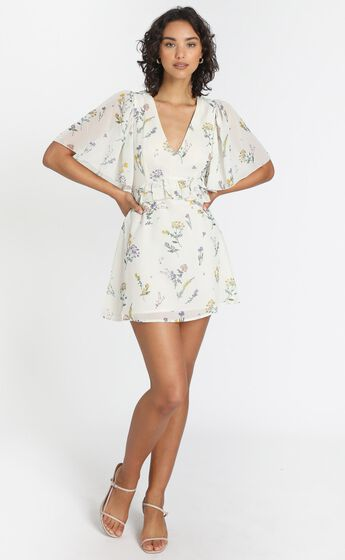 Seeing Colours Dress in Botanical Floral