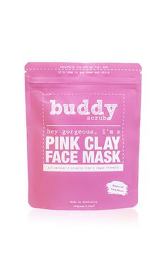 Buddy Scrub - Pink Clay Face Mask
