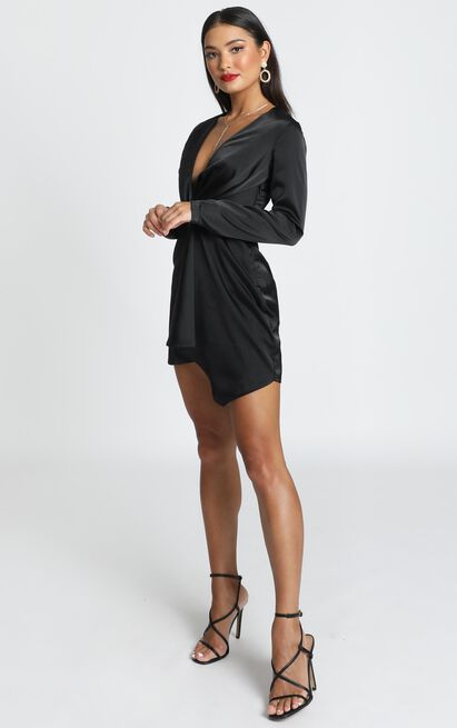 Stop Thinking About It Dress in black - 20 (XXXXL), Black, hi-res image number null