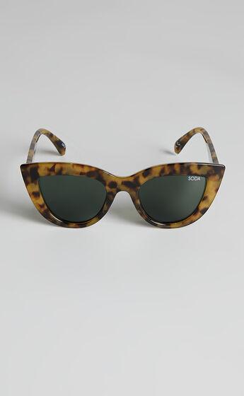 Soda Shades - Marilyn Sunglasses in Tort Light