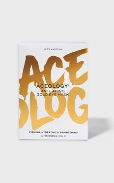 Aceology - Anti Aging Gold Eye Mask (6 pack)