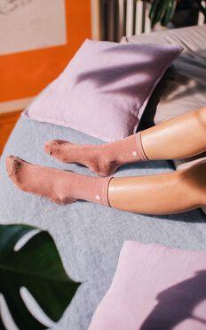 Doiy - Shell Socks in pink