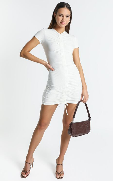 Kayne Dress in White