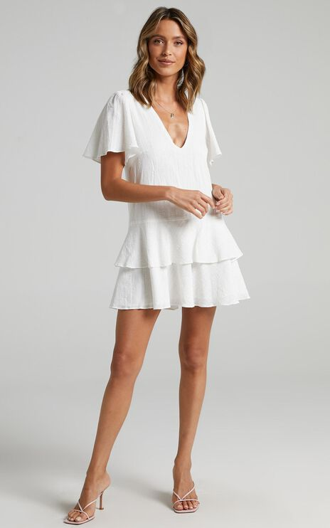 Bahama Baby Dress in White