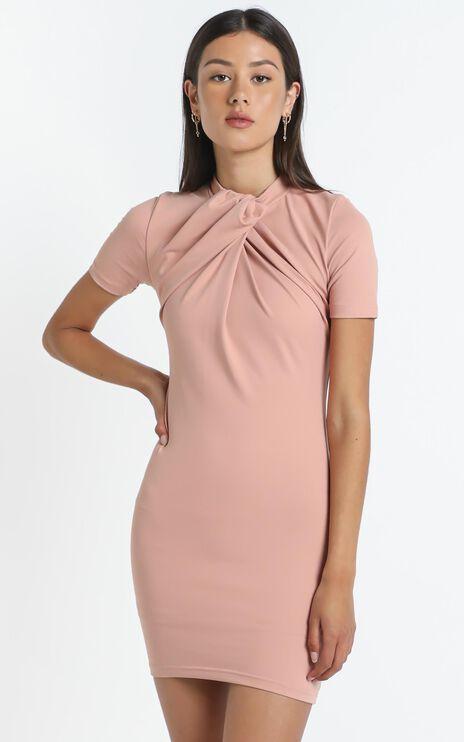 Rudie Dress in Beige