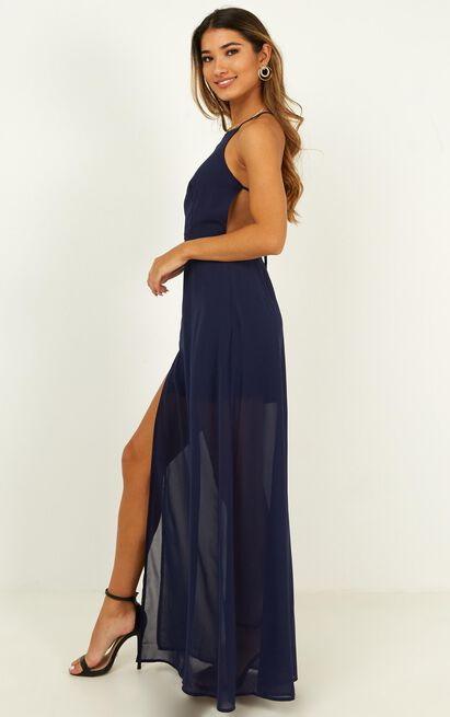 Night About You Dress in navy - 20 (XXXXL), Navy, hi-res image number null