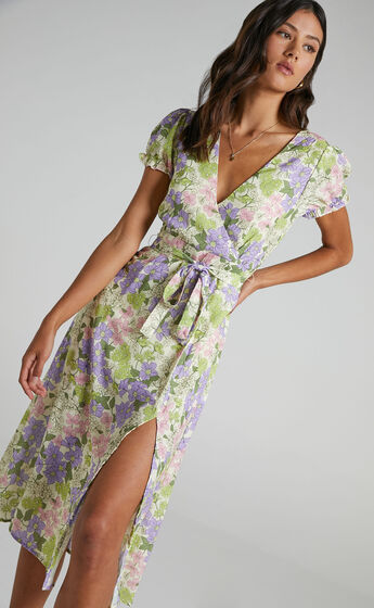 Sudden Life Dress in Garden Floral
