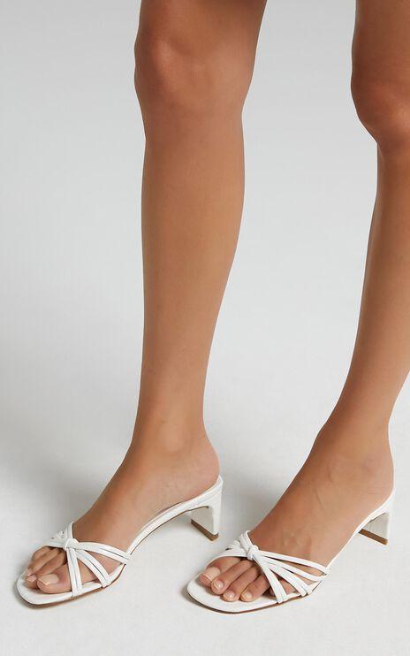 Billini - Siana Heels in White Croc