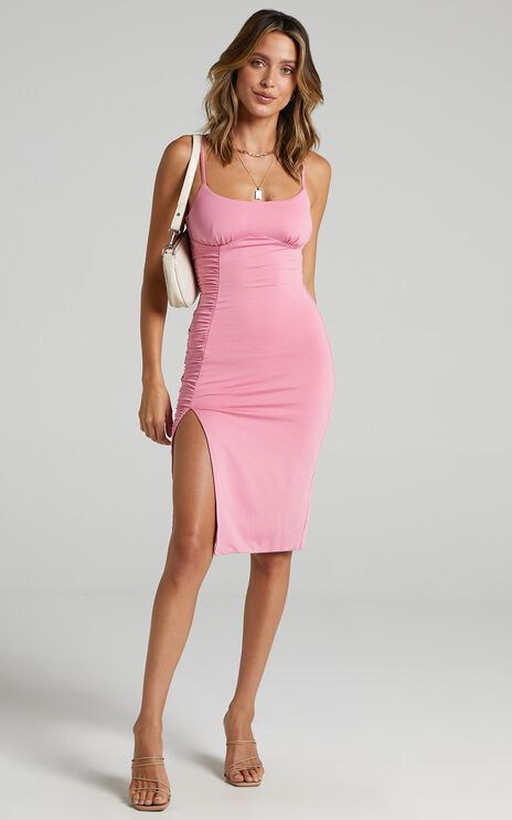 Nicolina Dress In Pink