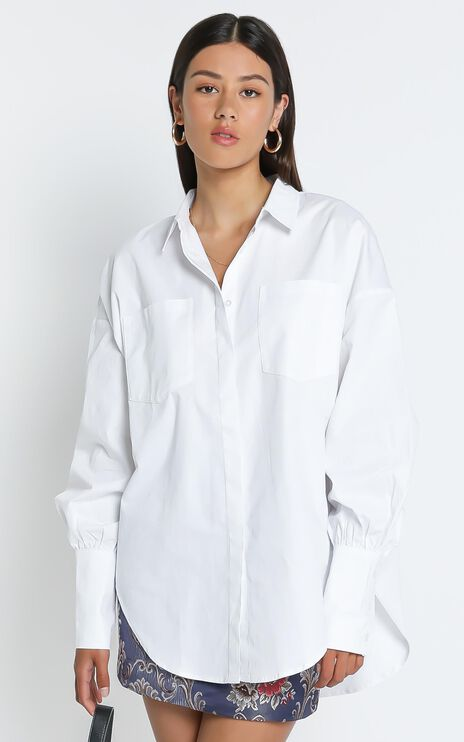 Lioness - The Carrie Top in White