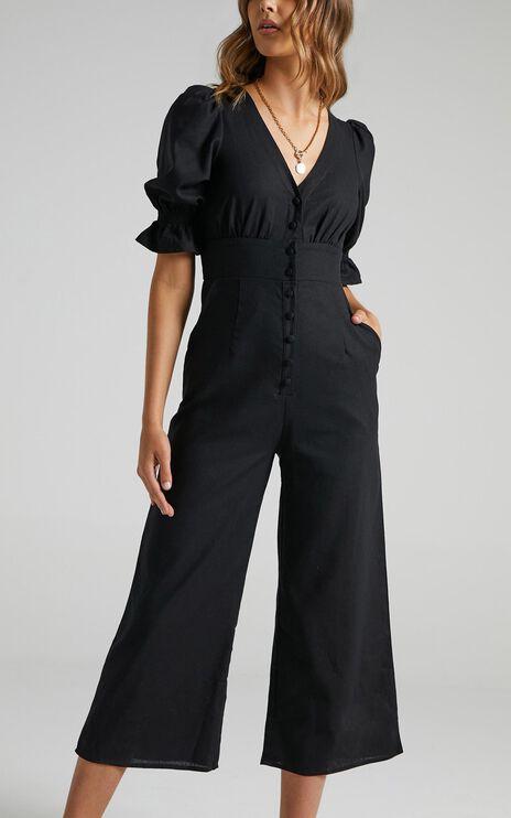 Arna Jumpsuit in Black