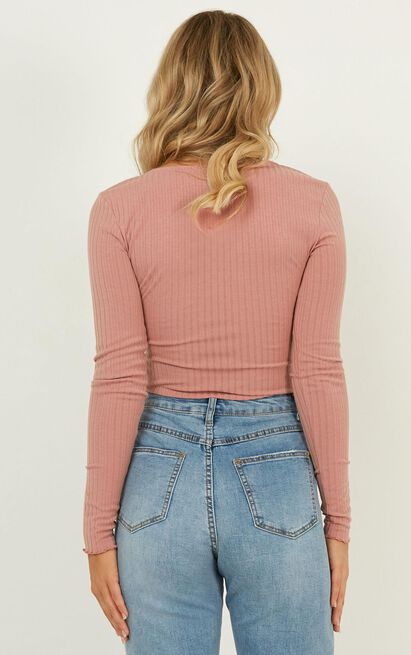 Complicate It Top In dusty rose - 20 (XXXXL), Pink, hi-res image number null