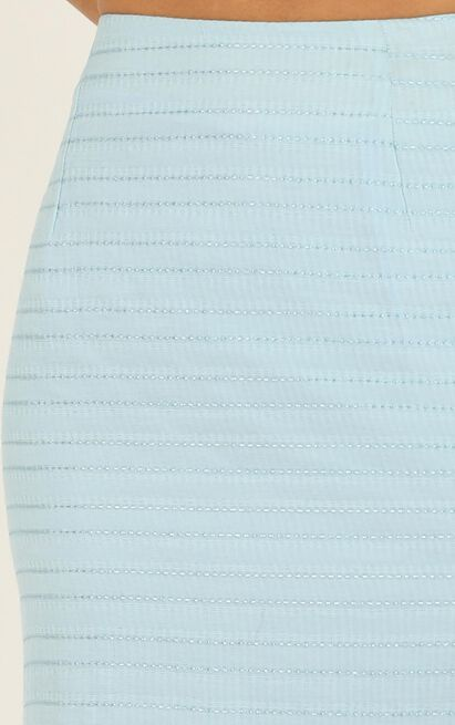 Unfold Me Skirt In blue - 20 (XXXXL), Blue, hi-res image number null