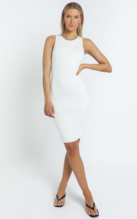 Becca Dress in White