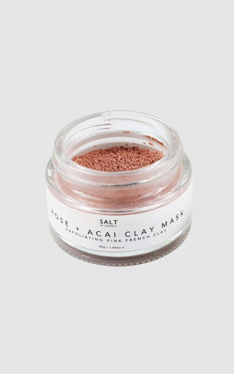 Salt By Hendrix - Rose + Acai Face Mask
