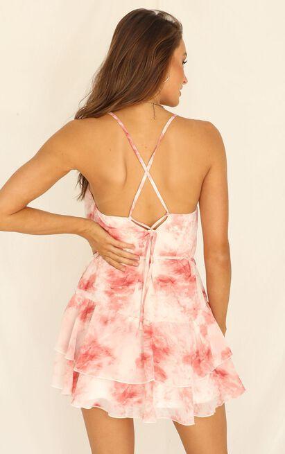 Love Fuel Dress in blush tie dye - 20 (XXXXL), Blush, hi-res image number null